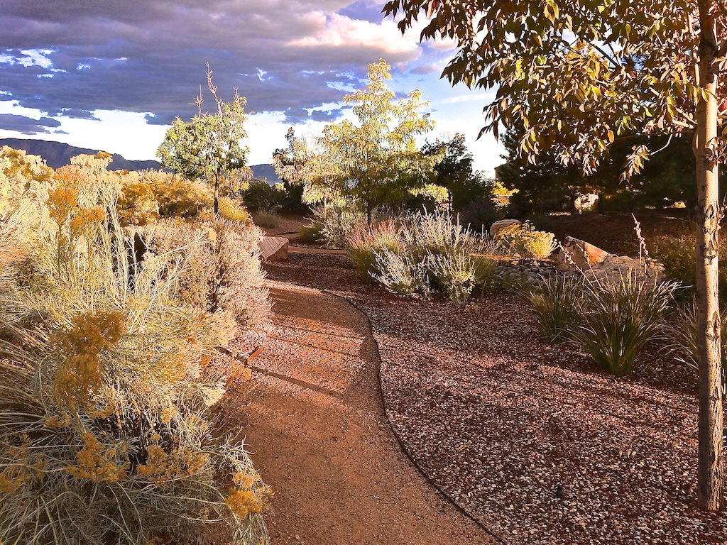 Fall Colors in the RIo Rancho WaterWise Demonstration Garden