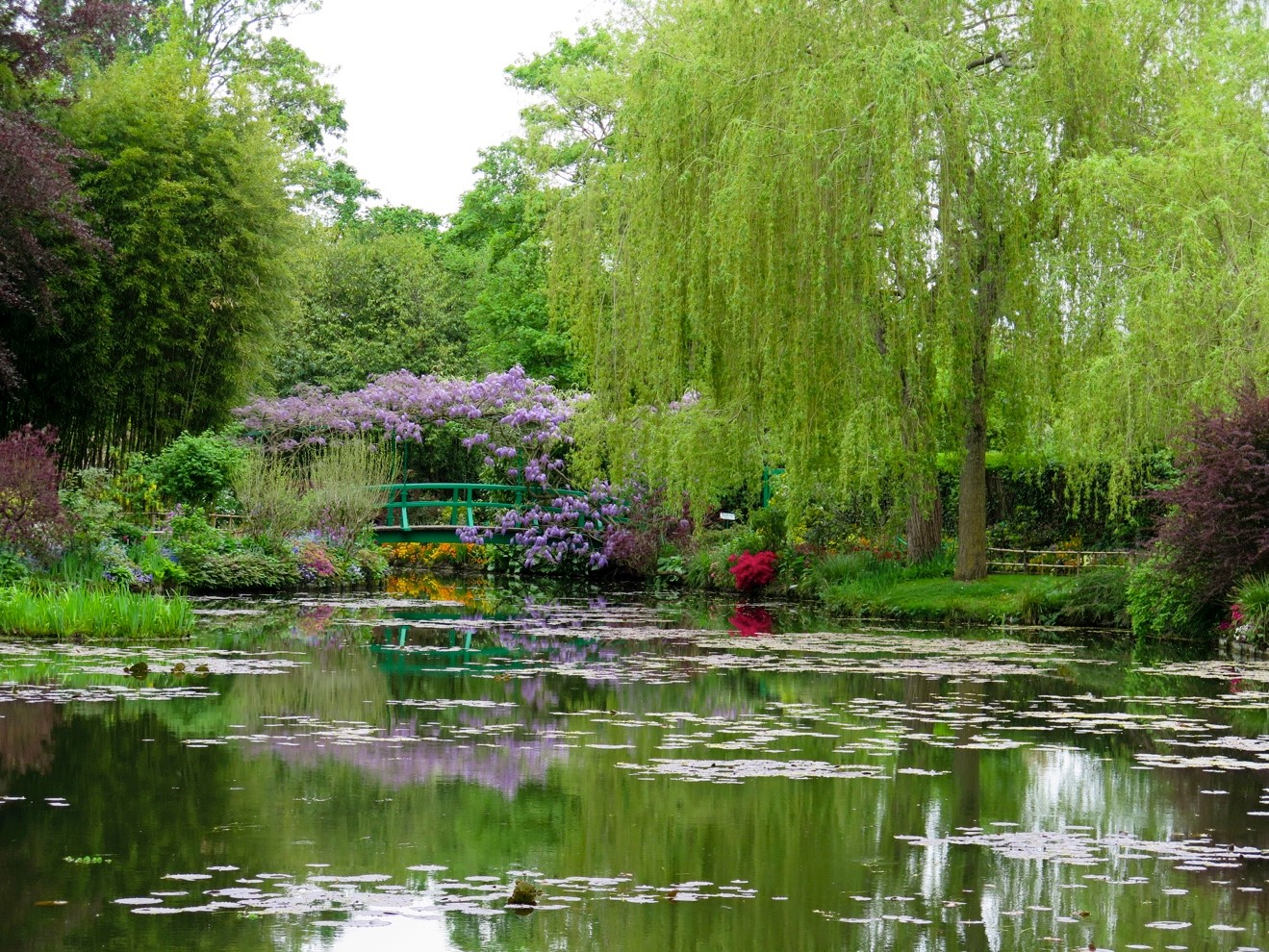Visiting Monet's Garden